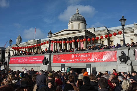 London and China celebrate more than just a cultural interest