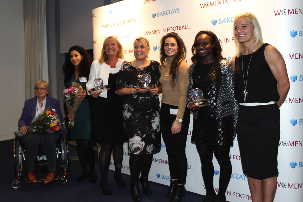 Women in Football host the first WiF awards