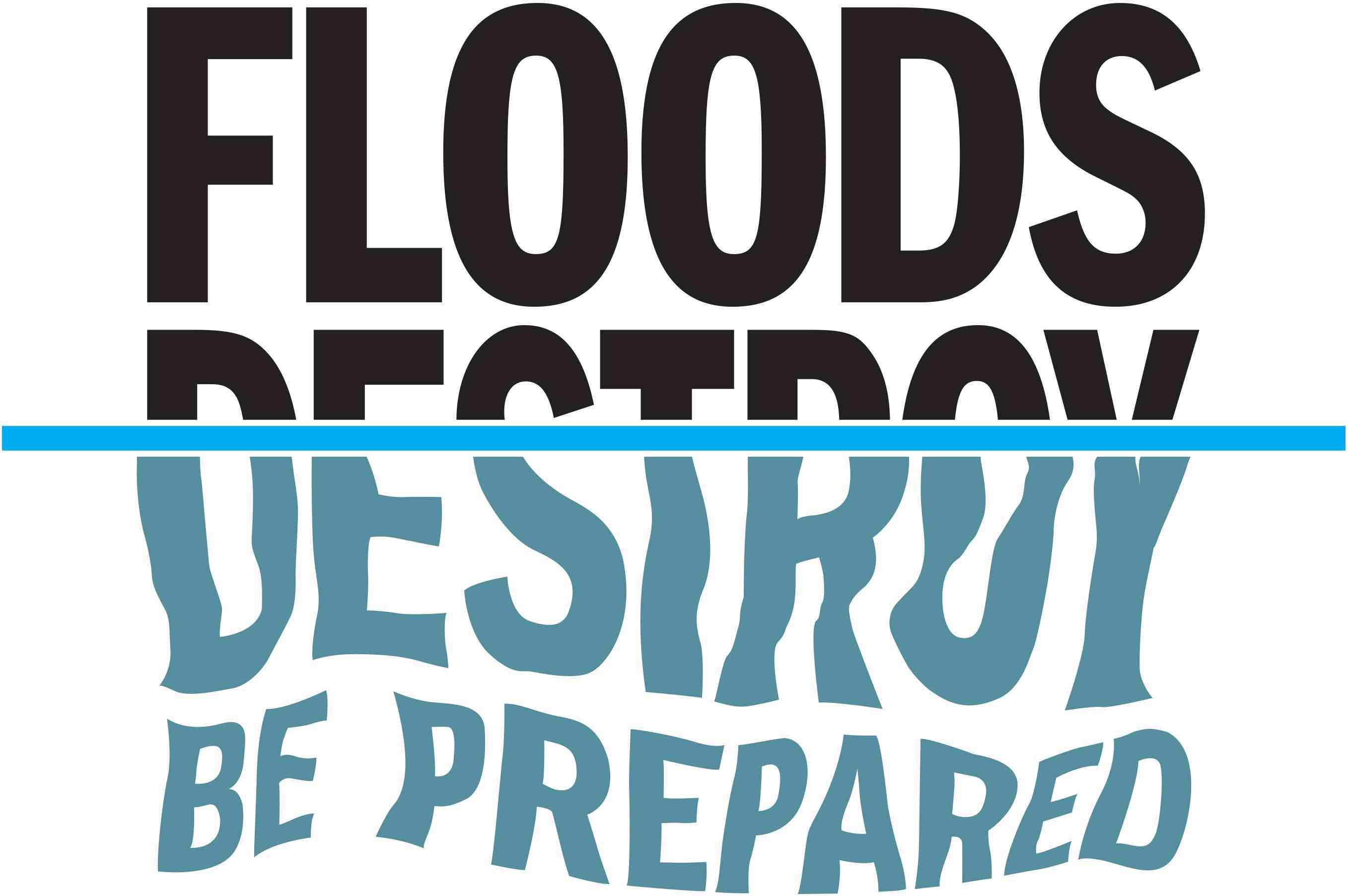 Health advice in the event of flooding