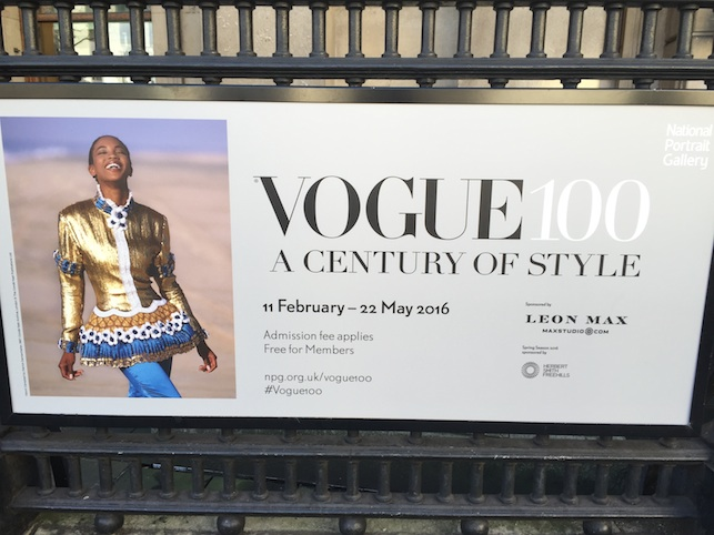 Vogue 100: A Century of Style opens today