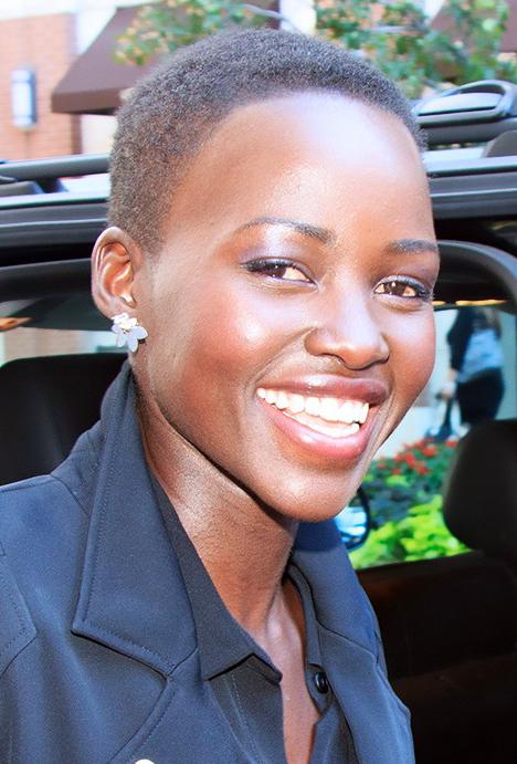 Oscar winner, Lupita Nyongo inspires thousands of black women to go natural. (Photo: