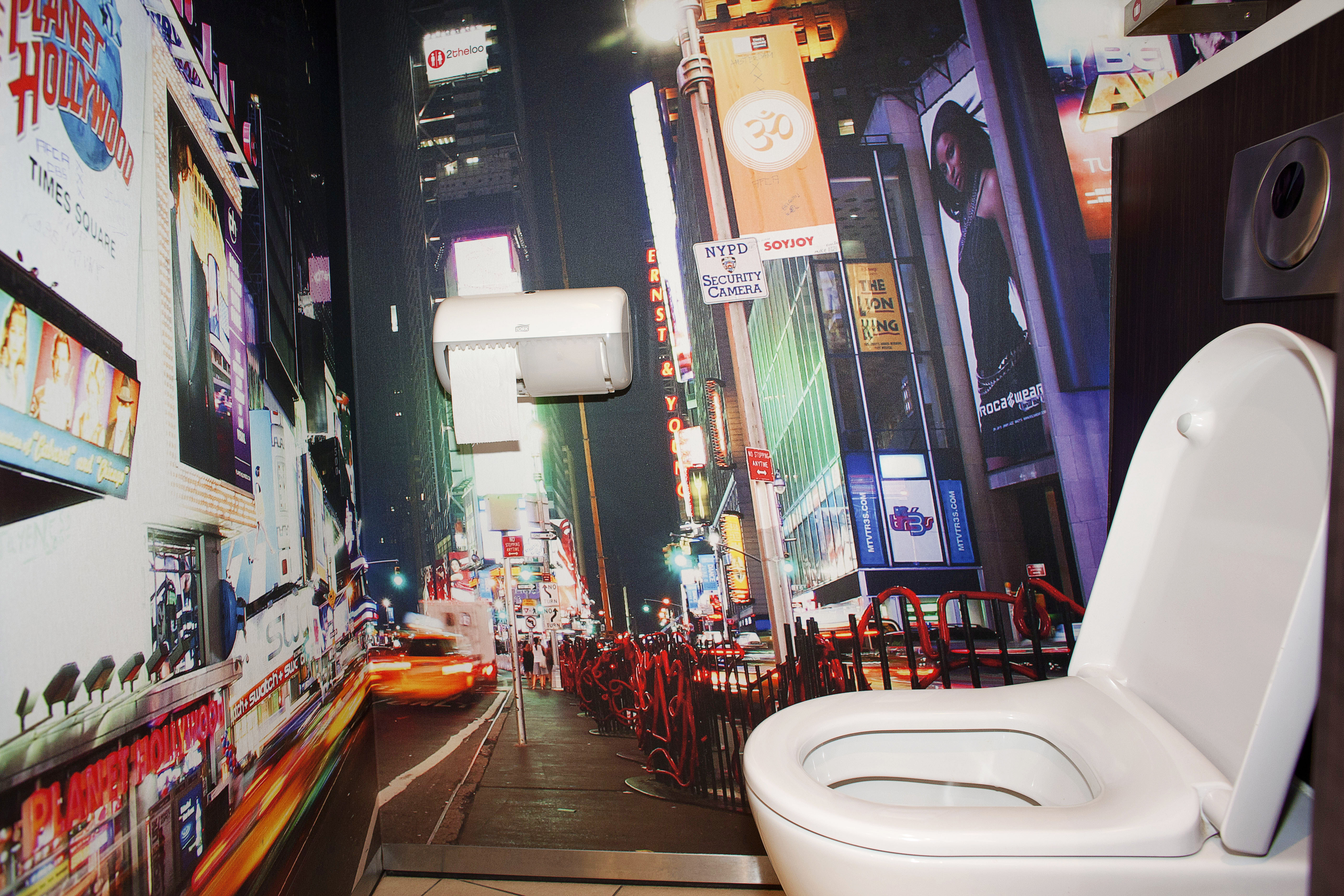 A loo experience you will never forget