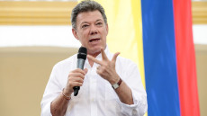 Juan Manuel Santos. Photo by Ministerio TIC Colombia (flickr)