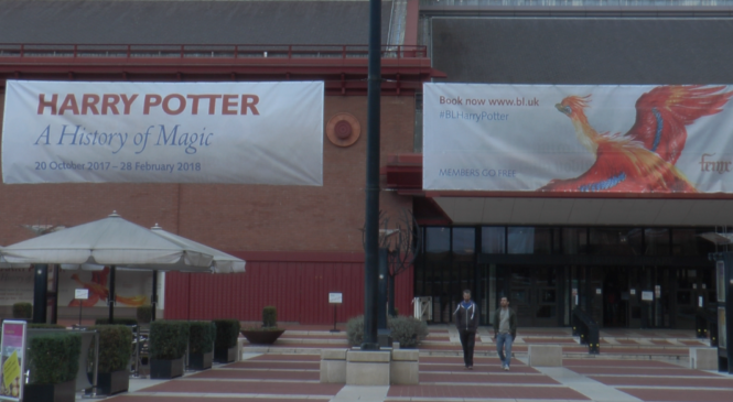 British Library Debuts Sold Out Harry Potter Exhibit
