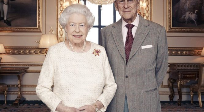 The first royal couple celebrate their 70th wedding anniversary