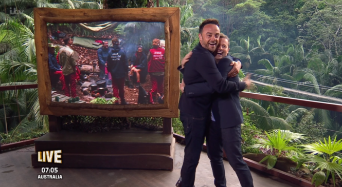 """""""What were you doing all summer?"""" Dec throws shade to Ant during I'm A Celeb launch show"""