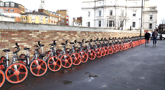 Mobike expanded its scheme to Islington area:opportunities and challenges of dockless bike in London