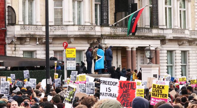 London Stands Up Against Migrant Slave Trade
